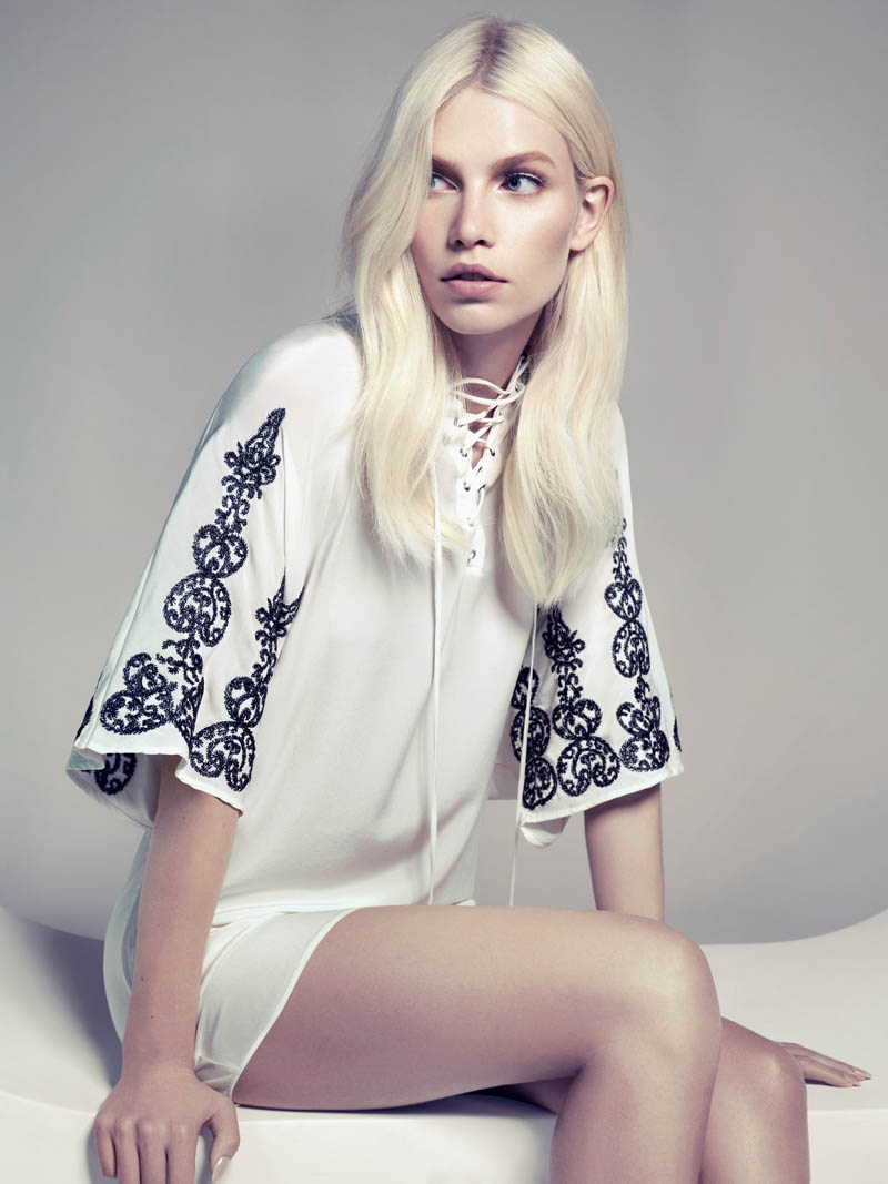 aline weber abrand11 Aline Weber Shines in A.Brand Fall 2013 Campaign