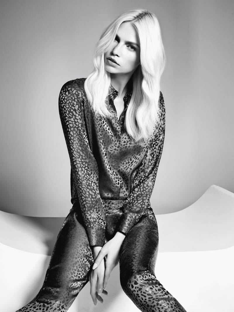 aline weber abrand4 Aline Weber Shines in A.Brand Fall 2013 Campaign