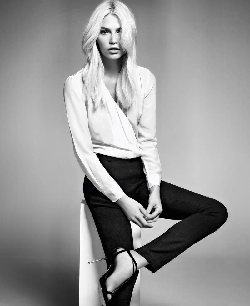 aline weber abrand5 Aline Weber Shines in A.Brand Fall 2013 Campaign