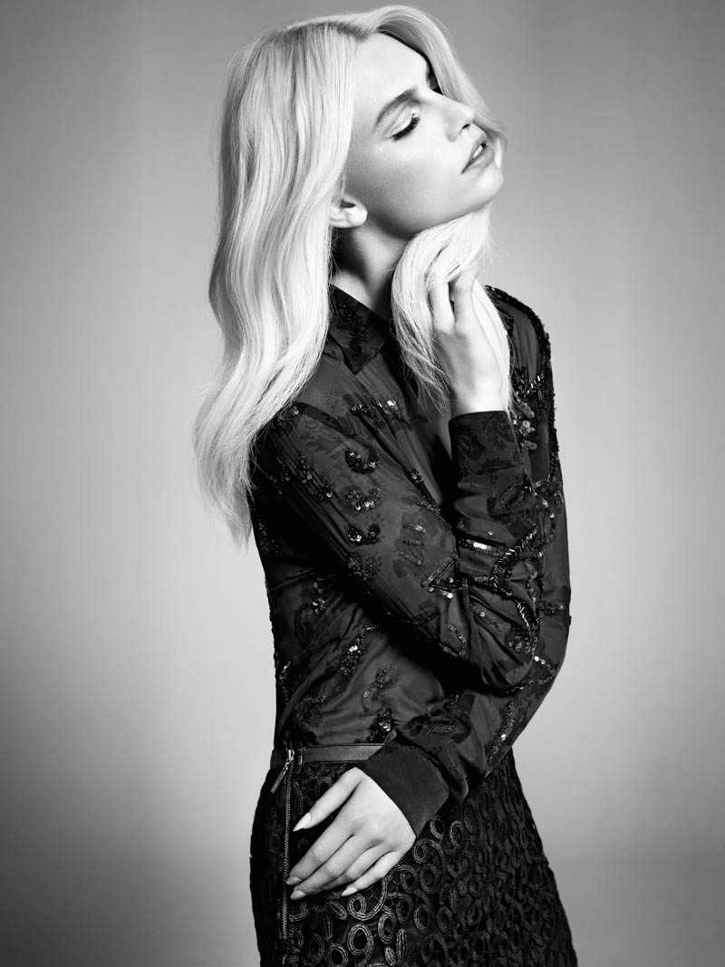 Aline Weber Shines in A.Brand Fall 2013 Campaign