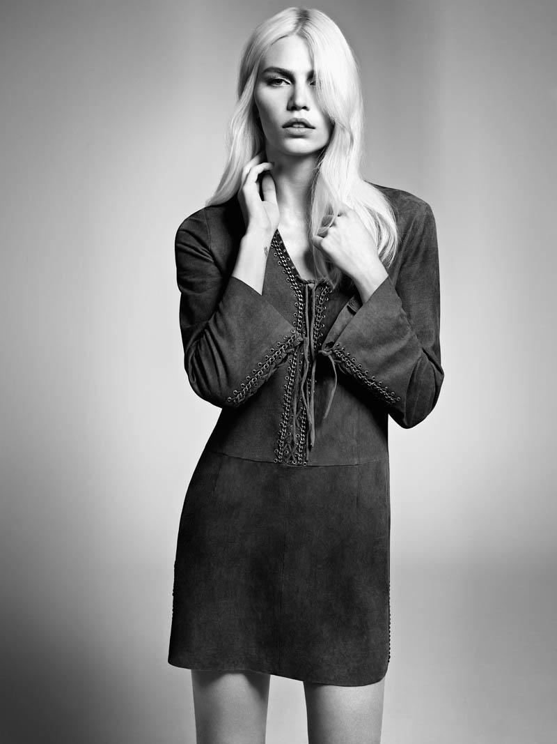 aline weber abrand9 Aline Weber Shines in A.Brand Fall 2013 Campaign