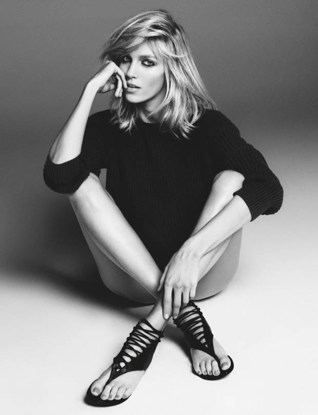 anja zanotti ad1 Anja Rubik Works It in Giuseppe Zanotti Campaign for Her New Capsule Collection