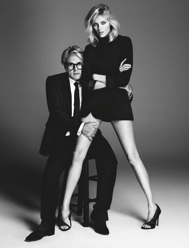 anja zanotti ad2 Anja Rubik Works It in Giuseppe Zanotti Campaign for Her New Capsule Collection