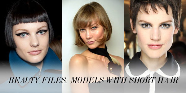 beauty files Beauty Files: 9 Models Who Rock(ed) Short Hair