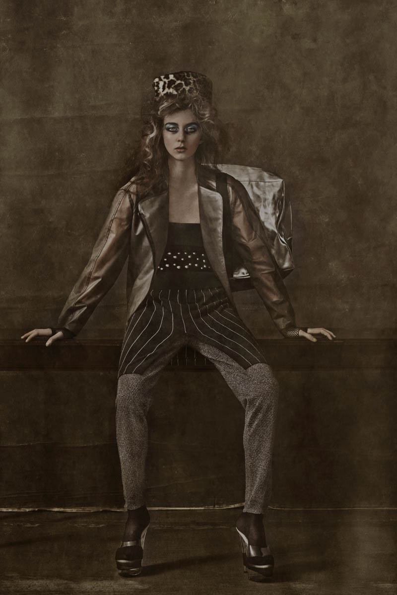 carl bengtsson2 Tova Wahlin by Carl Bengtsson in The Grey Lady for Fashion Gone Rogue