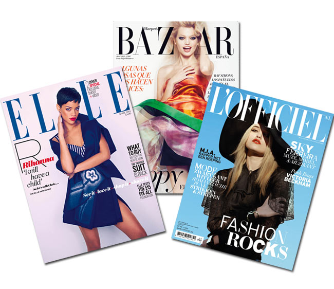 fashion cover recap COVERED: The April 2013 Covers of Fashion Magazines Revisited