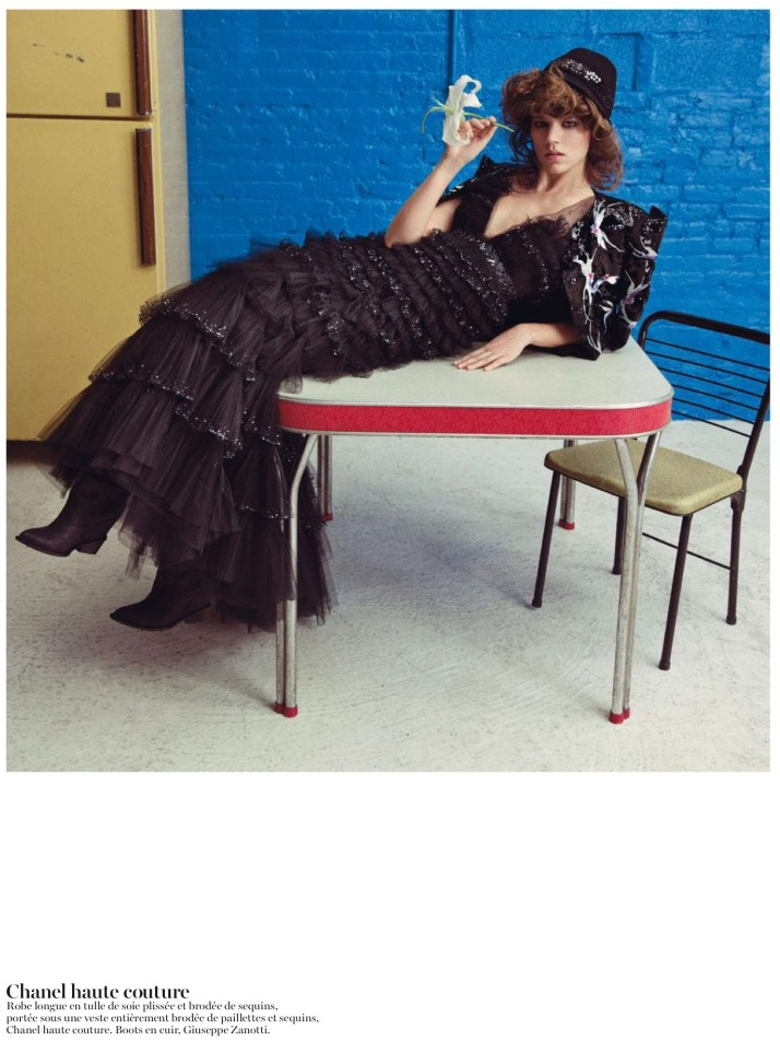 freja beha erichsen5 Freja Beha Erichsen is Ravishing in Couture for Vogue Paris May 2013 by Inez & Vinoodh