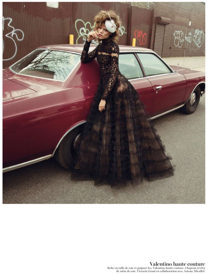 freja beha erichsen8 Freja Beha Erichsen is Ravishing in Couture for Vogue Paris May 2013 by Inez & Vinoodh