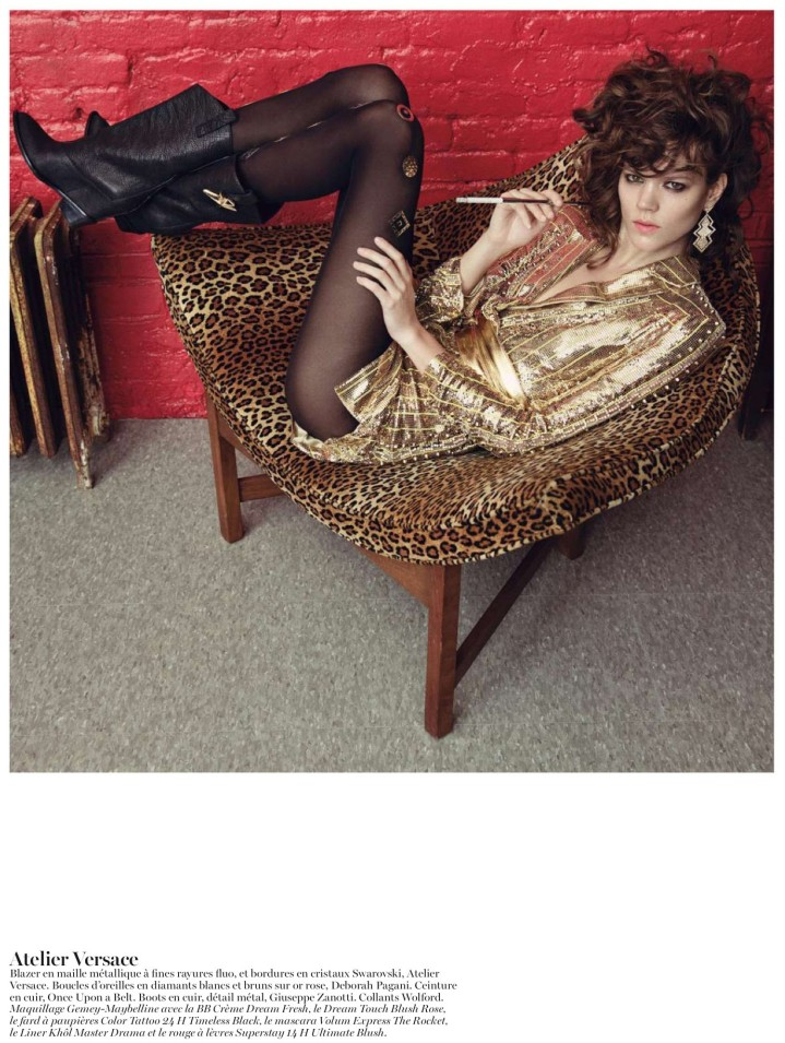 Freja Beha Erichsen is Ravishing in Couture for Vogue Paris May 2013 by Inez & Vinoodh