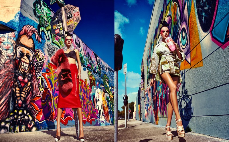 gabor jurina tokyo pop4 Karina Gubanova is Tokyo Glam for Fashion May 2013 by Gabor Jurina