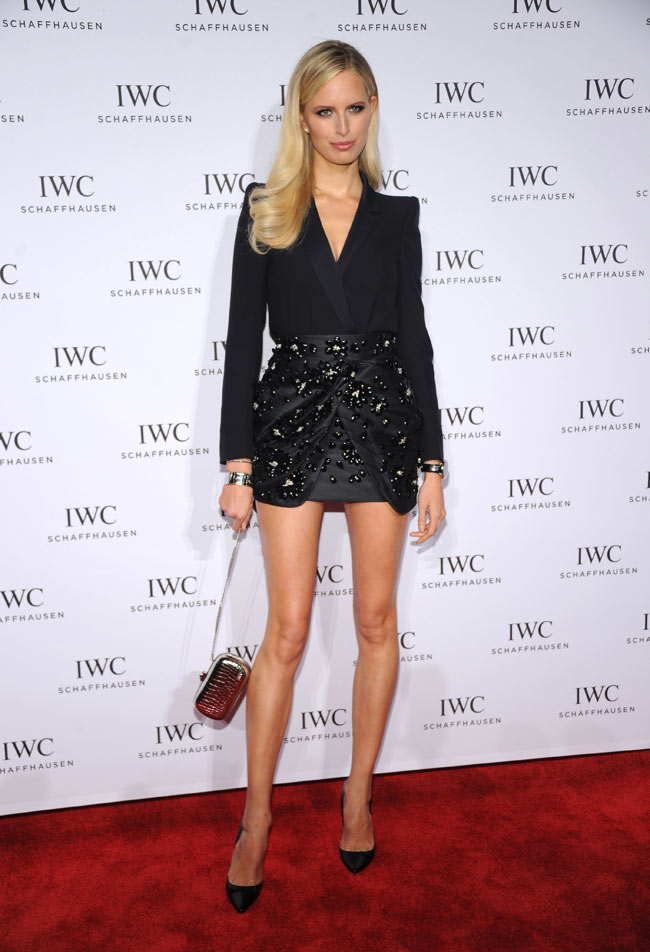 karolina kurkova1 Karolina Kurkova Wears Blumarine to the For the Love of Cinema Celebration