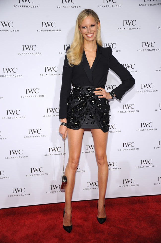 karolina kurkova2 Karolina Kurkova Wears Blumarine to the For the Love of Cinema Celebration
