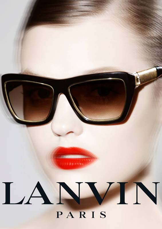 Montana Cox Stars in Lanvin Eyewear Spring 2013 Campaign by Stephane Gallois
