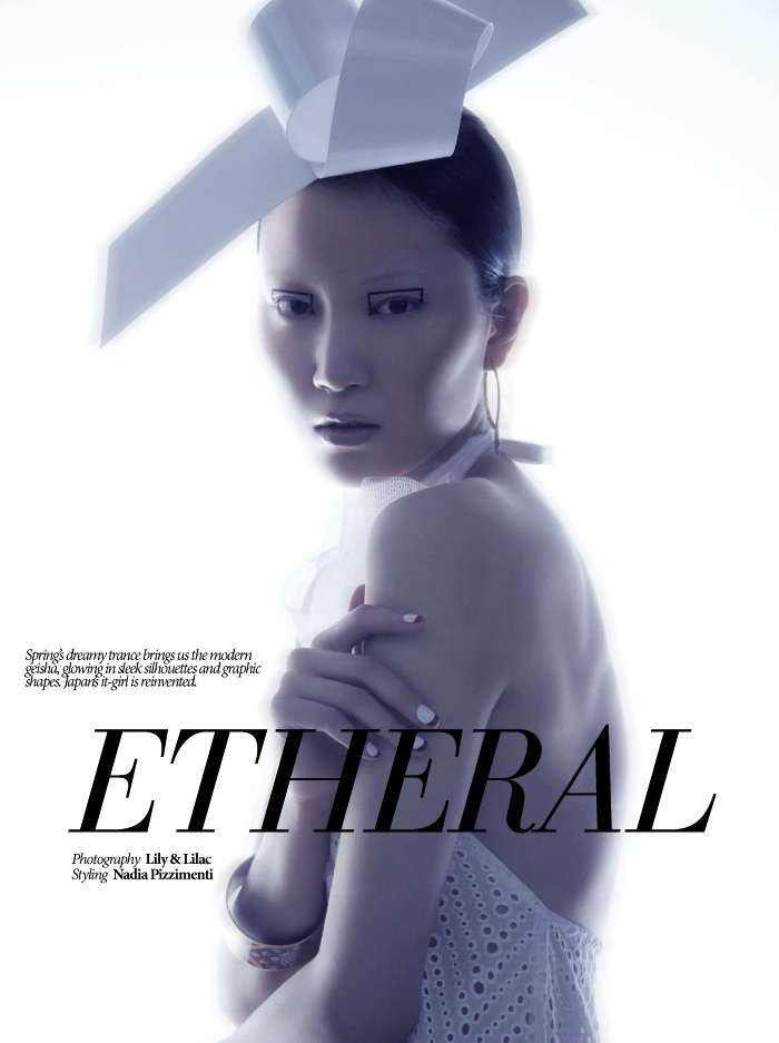 lilyandlilac 01 Ishie Wang is Ethereal for Dress To Kill Spring 2013 by Lily & Lilac
