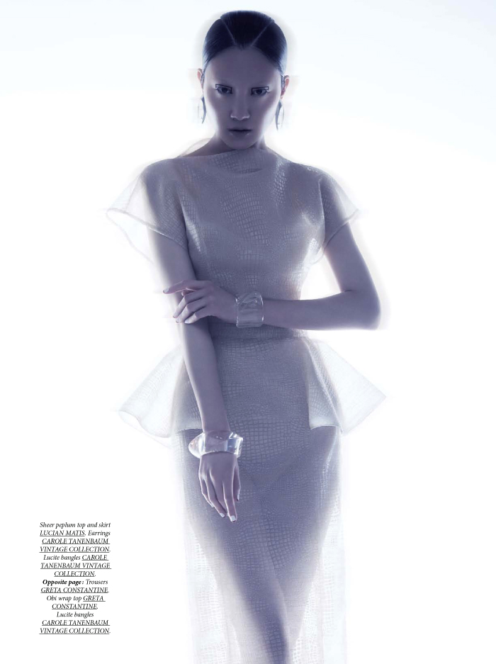 lilyandlilac 04 Ishie Wang is Ethereal for Dress To Kill Spring 2013 by Lily & Lilac