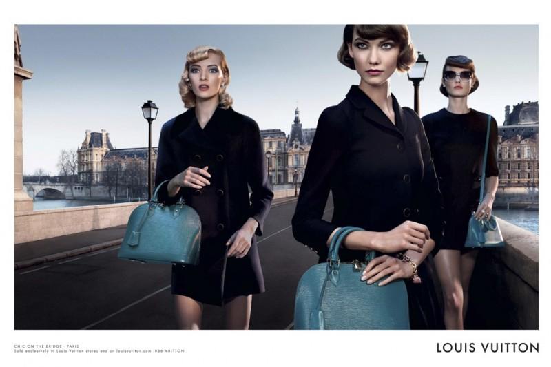 Louis Vuitton Enlists Karlie Kloss, Daria Strokous, Jac Jagaciak and Iris Strubegger for Alma Bag Campaign