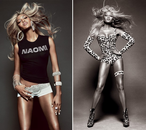naomicover2 Naomi Campbell Goes Blonde for Vogue Brazils May 2013 Cover