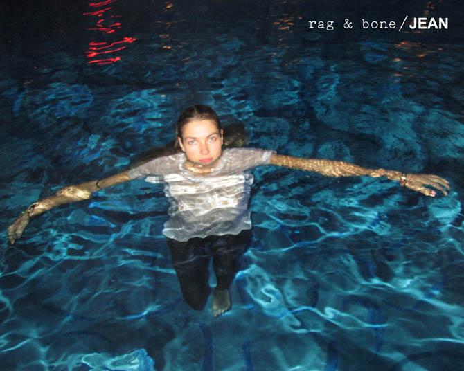 Jessica Hart and Anais Mali Take Self Portraits for Rag & Bone's D.I.Y. Project