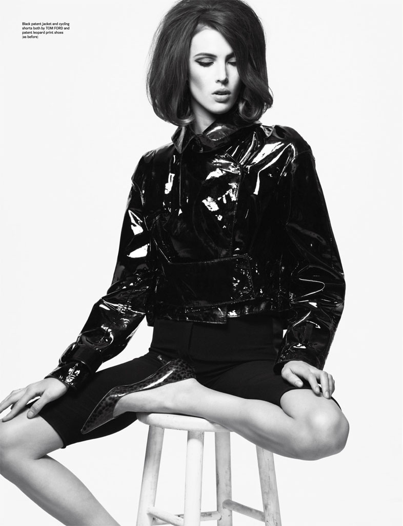 ruby aldridge6 Ruby Aldridge Charms in Wonderland Magazine April/May 2013