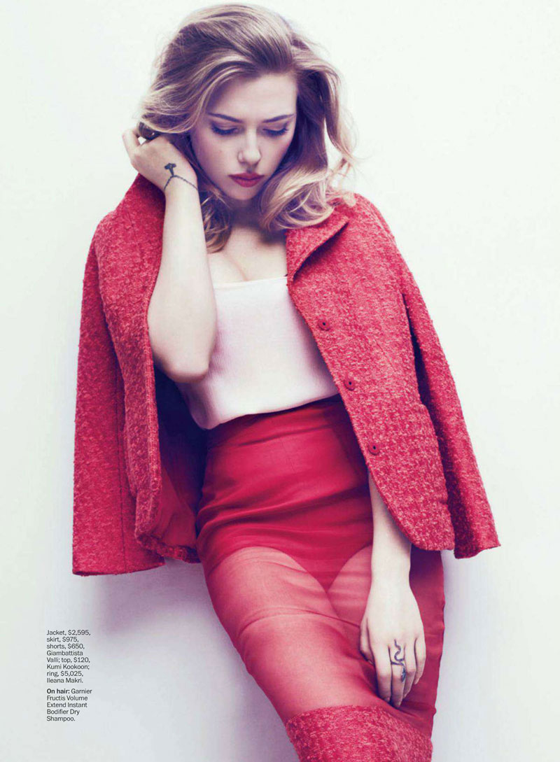 scarlett marie claire1 Scarlett Johansson Charms In Marie Claire US May 2013 by Txema Yeste