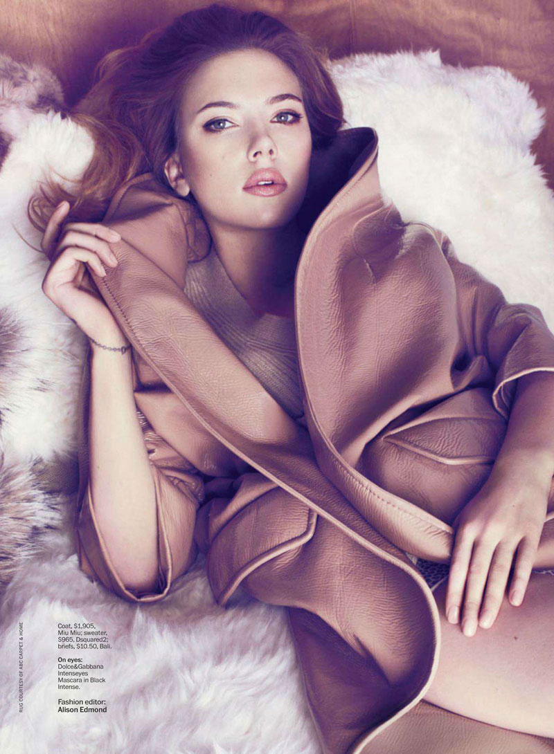 scarlett marie claire2 Scarlett Johansson Charms In Marie Claire US May 2013 by Txema Yeste