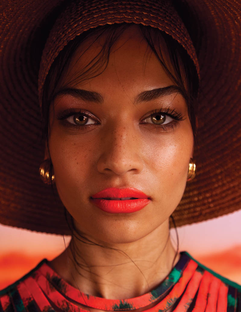 shanina shaik casey brooks1 Shanina Shaik by Casey Brooks in The Sun Also Sets for Fashion Gone Rogue