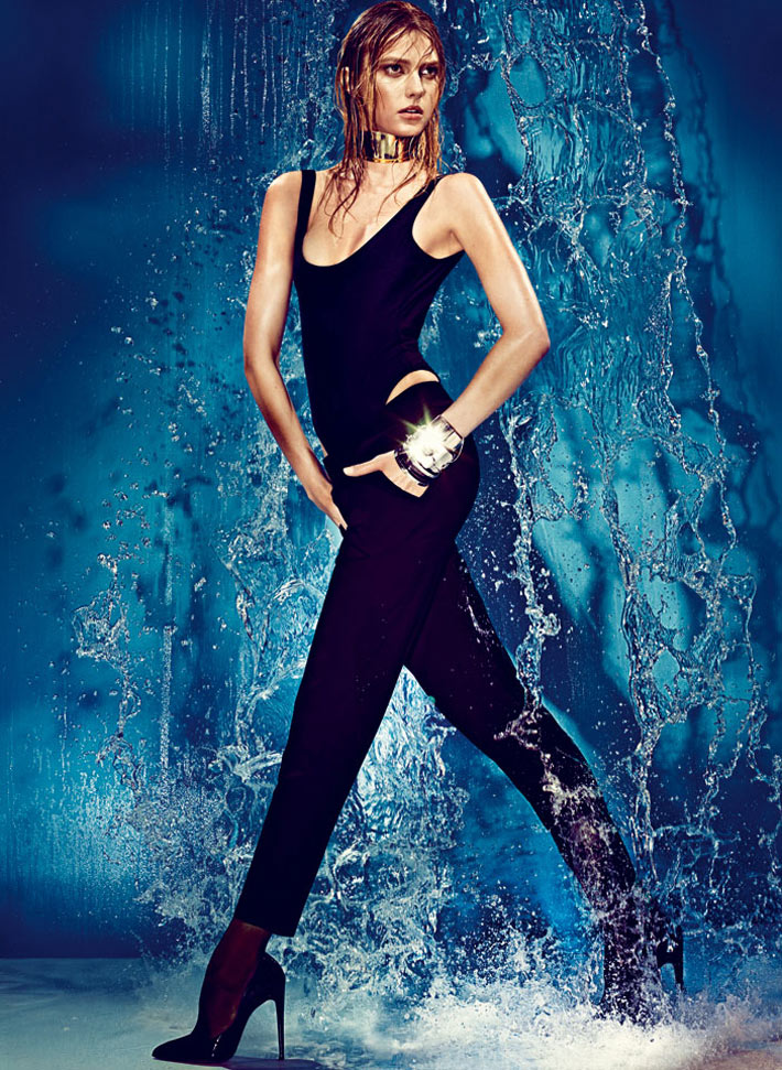 sigrid agren w korea3 Sigrid Agren Creates a Splash for W Korea May 2013 Cover Shoot by Alexi Lubomirski