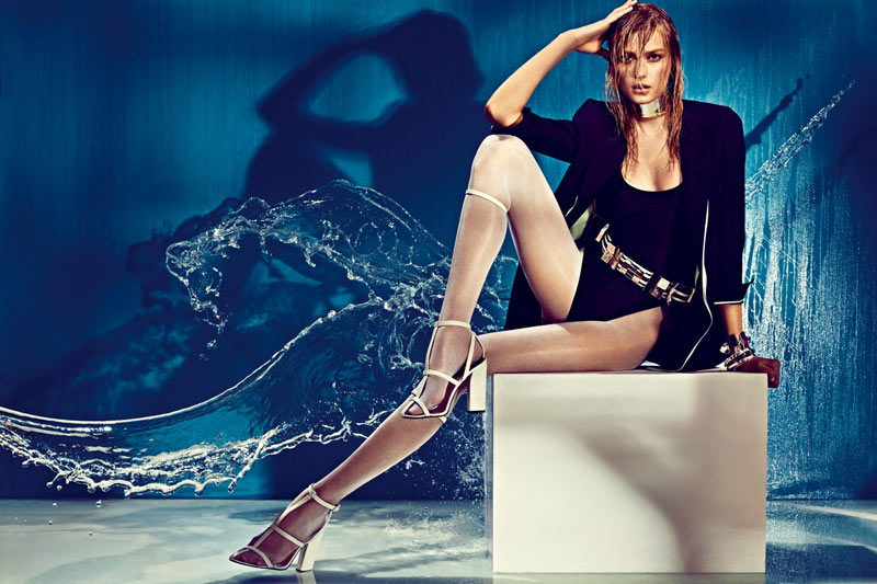 sigrid agren w korea5 Sigrid Agren Creates a Splash for W Korea May 2013 Cover Shoot by Alexi Lubomirski