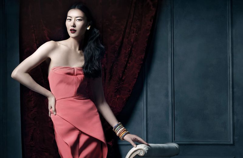 tiffany co1 Michael Thompson Shoots Liu Wen, Doutzen Kroes, Karen Elson and More for Tiffany & Co. Spring 2013 Campaign