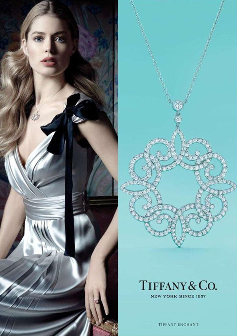 tiffany co3 Michael Thompson Shoots Liu Wen, Doutzen Kroes, Karen Elson and More for Tiffany & Co. Spring 2013 Campaign