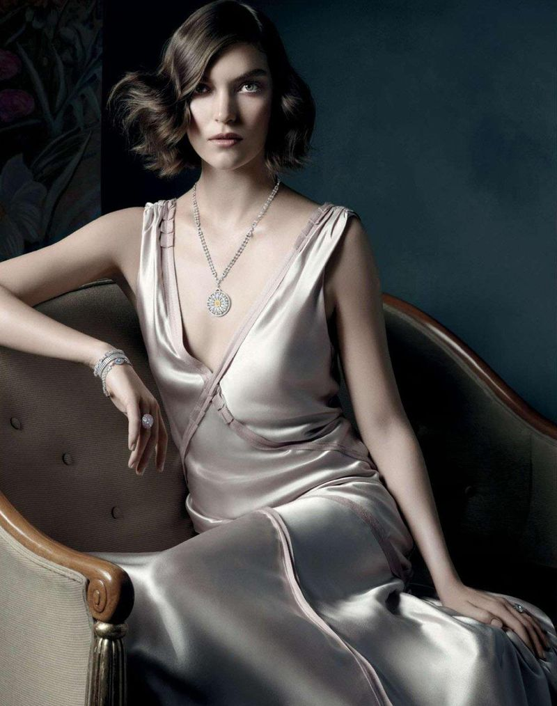 tiffany co5 Michael Thompson Shoots Liu Wen, Doutzen Kroes, Karen Elson and More for Tiffany & Co. Spring 2013 Campaign