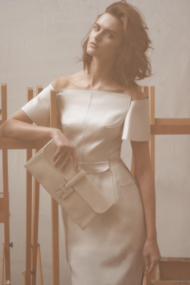 Branislav Simoncik Shoots Zuzana Gregorova in Pale Looks for Maxima Portugal