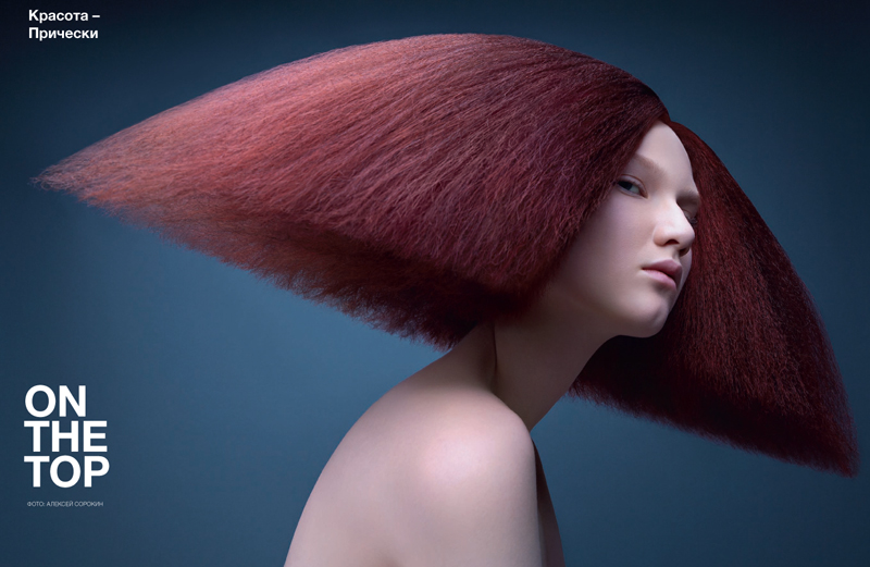 Alexey Sorokin Captures Cutting Edge Hair Styles for Numéro Russia May 2013
