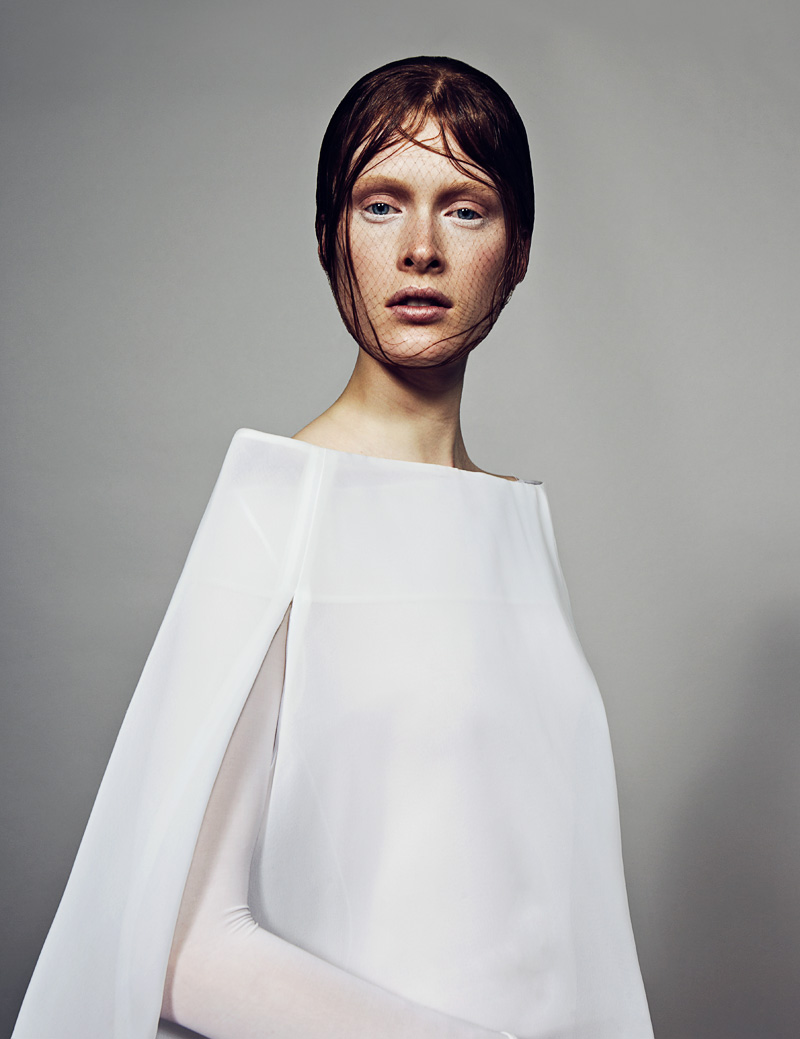 1 FW130405Soma 23245 Ilva Heitmann Dons All White for SOMA Magazine by Felix Wong