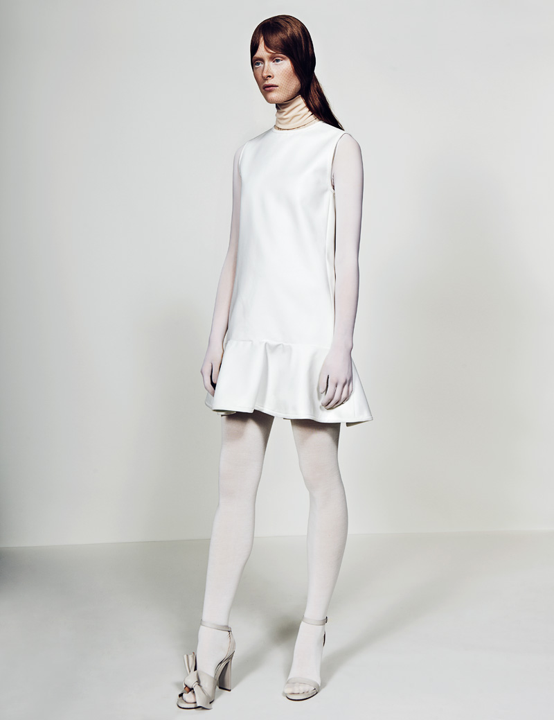 11 FW130405Soma 22760 Ilva Heitmann Dons All White for SOMA Magazine by Felix Wong
