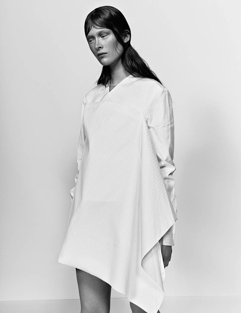 3 FW130405Soma 22516 Ilva Heitmann Dons All White for SOMA Magazine by Felix Wong