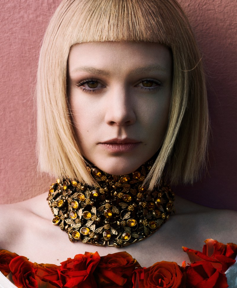 Carey Mulligan Stars in Flaunt Magazine Cover Shoot by Stevie and Mada