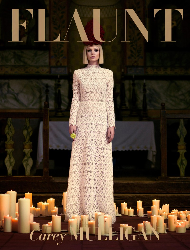 CareyMulliganFlaunt9 Carey Mulligan Stars in Flaunt Magazine Cover Shoot by Stevie and Mada