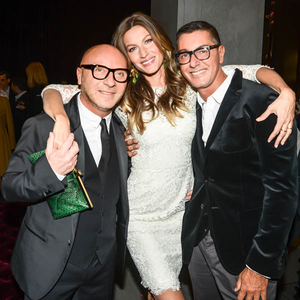 DOMENCO DOLCE GISELE STEFANO GABBANA Gisele Bundchen, Kylie Minogue, Erin Heatherton and Others Celebrate Dolce & Gabbana Opening of 5th Avenue Flagship Boutique