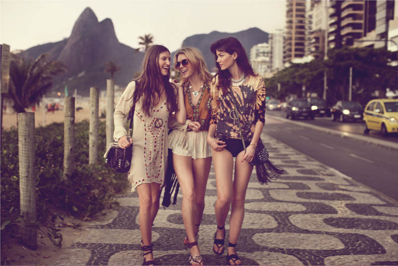 Sheila Marquez Hits Rio in Part 2 of Free People's Roshambo Romance Catalogue