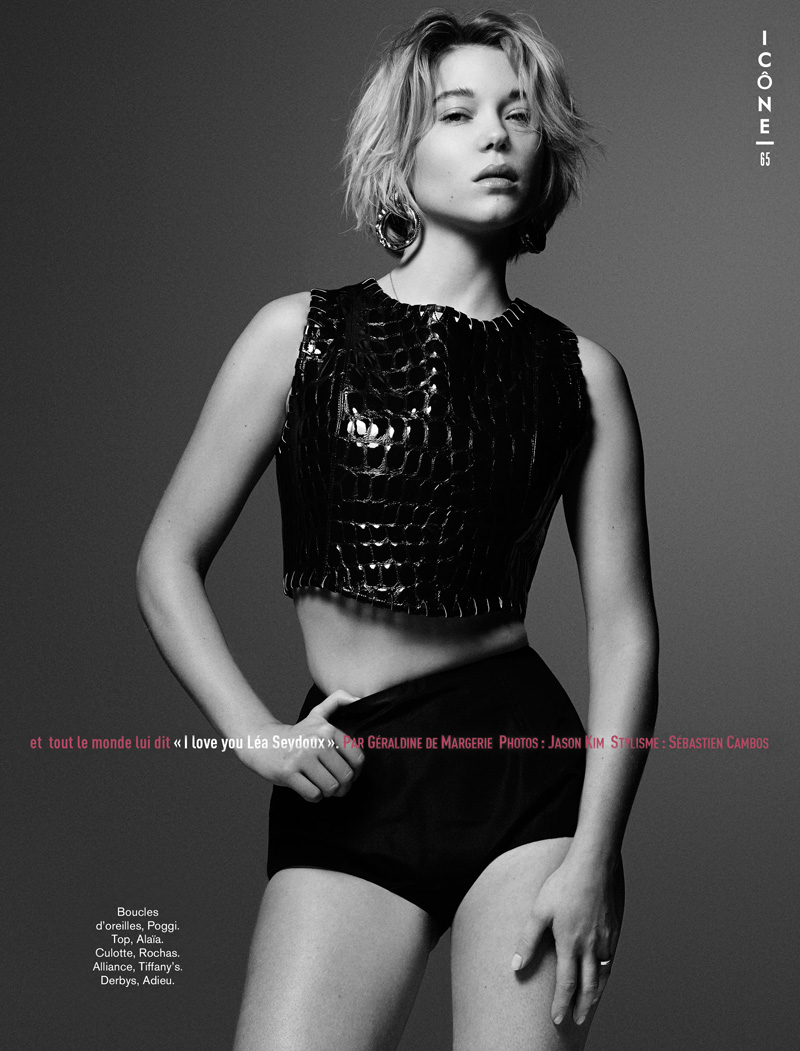 GLAMOUR FR LEA SEYDOUX LORES 02 Lea Seydoux Poses for Jason Kim in Glamour France June 2013
