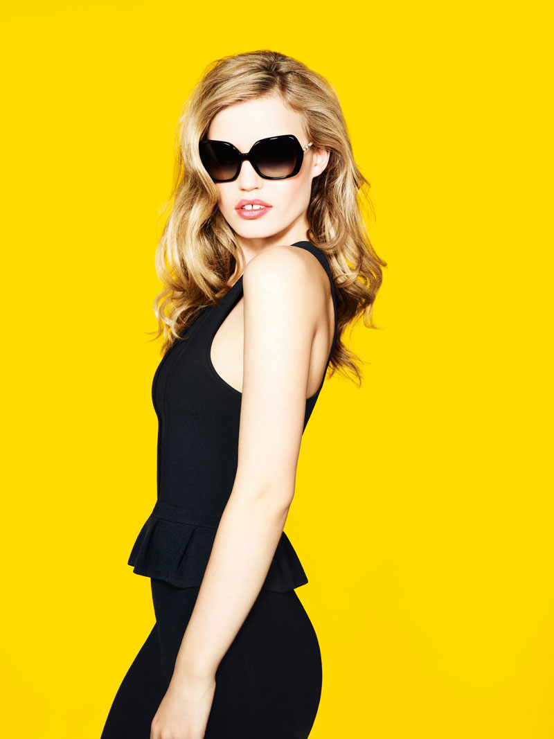 GeorgiaMayJerryHall4 Georgia May Jagger Joins Jerry Hall for Sunglass Hut Mother's Day Campaign