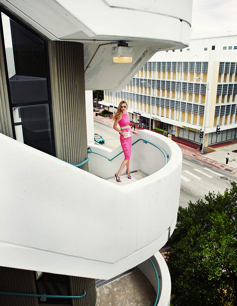 GraziaZoltanTombor4a Nika Lauraitis Gets Colorful in Miami for Grazia Italy by Zoltan Tombor
