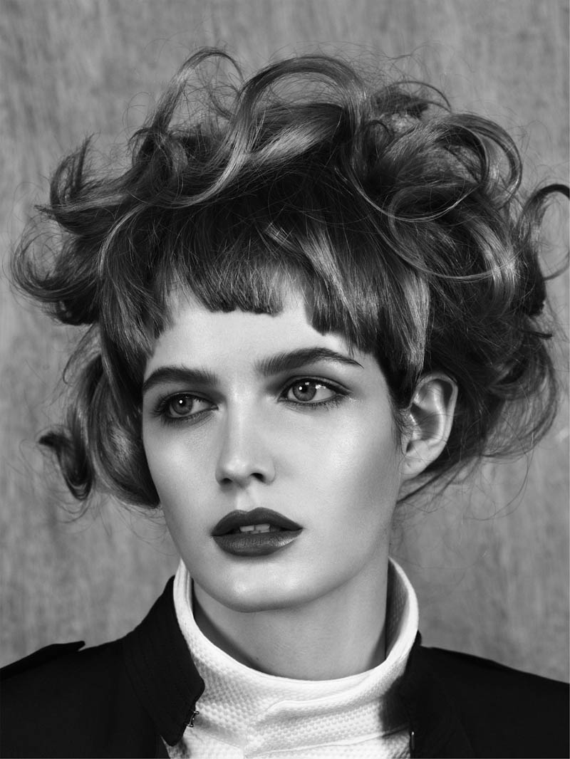 JL 1219 F3 RGB Zlata Mangafic Poses for Jens Langkjaer in Used Magazine Beauty Feature