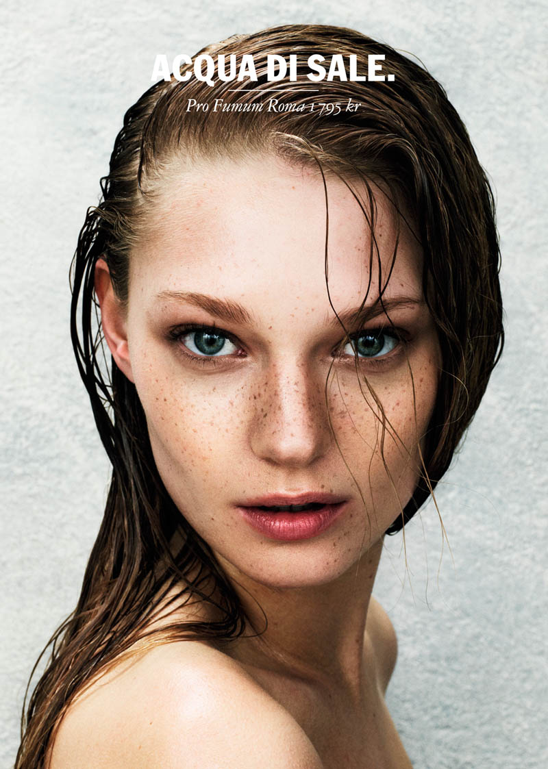 JL NK 2 Johanna Jonsson Models Spring Scents for NK Beauty Campaign by Jesse Laitinen