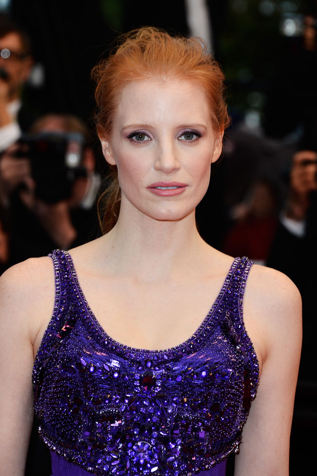 Jessica Chastain Givenchy3 Jessica Chastain Wows in Givenchy Haute Couture at the 66th Annual Cannes Film Festival