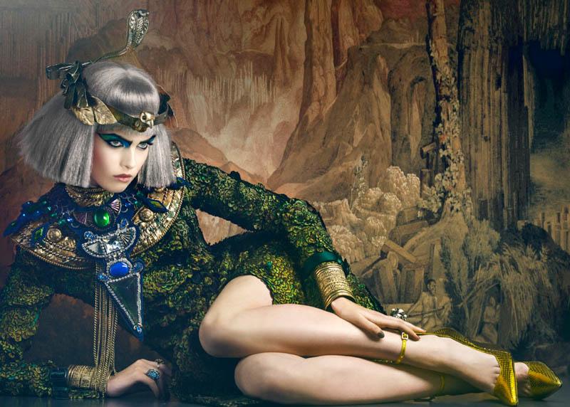 Signe Vilstrup Captures Models as Style Icons for Elle Denmark