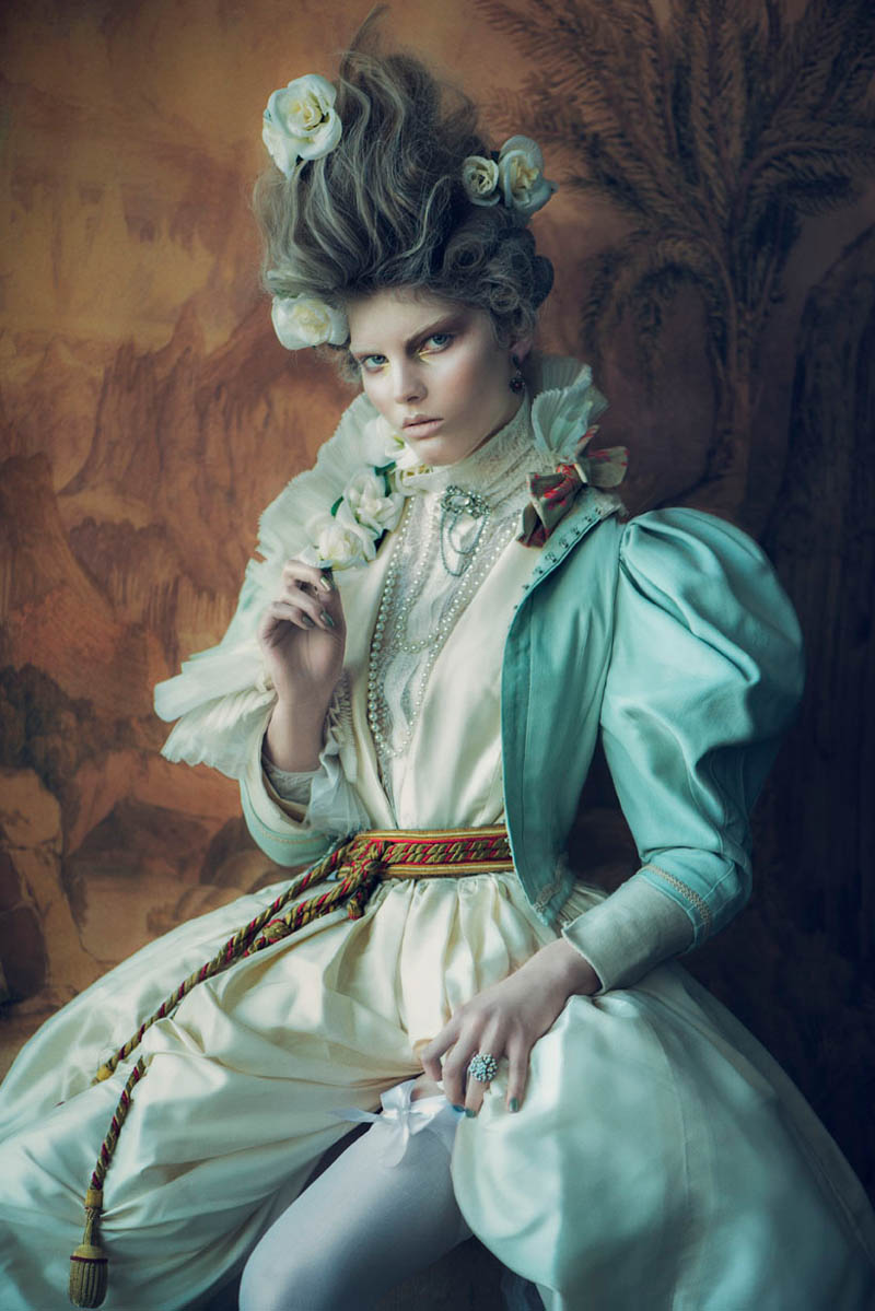 MuseElle2 Signe Vilstrup Captures Models as Style Icons for Elle Denmark