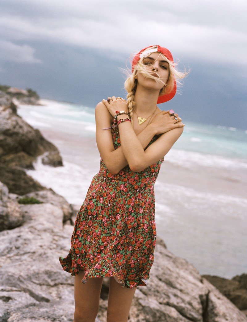 NaomiUO11 Naomi Preizler Heads to Tulum for Urban Outfitters Lookbook by Colin Leaman