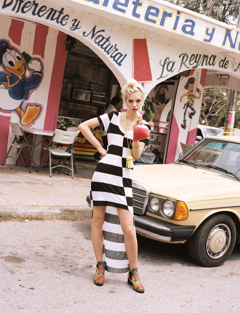 NaomiUO3 Naomi Preizler Heads to Tulum for Urban Outfitters Lookbook by Colin Leaman